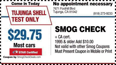 State Inspection Coupon >> $29.75 Smog Check - Smog Coupon - STAR Smog Test